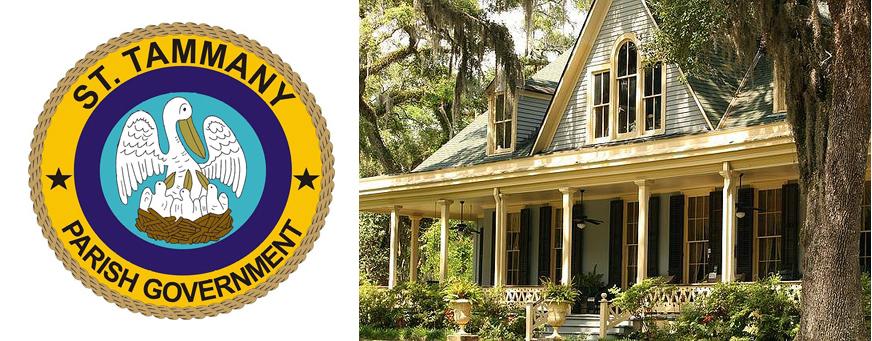 St Tammany Home Logo